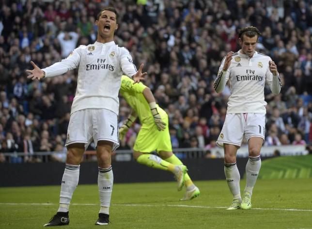 Spanish TV claim Cristiano Ronaldo shouted rude phrase at Gareth Bale