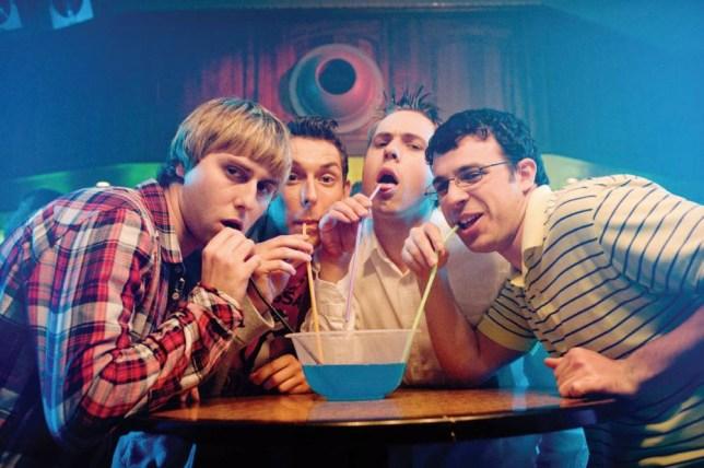 The Inbetweeners, lads