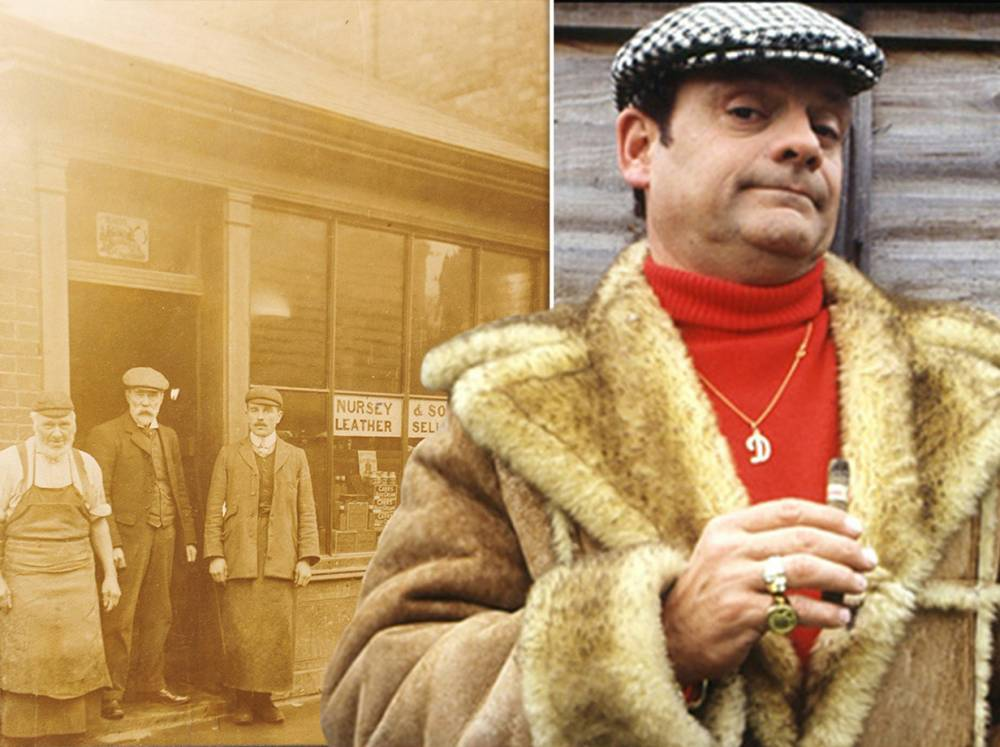 Factory that made Del Boy's sheepskin coat to close