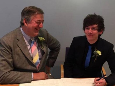 Stephen Fry gets married: Actor announces he and Elliott Spencer have officially tied the knot