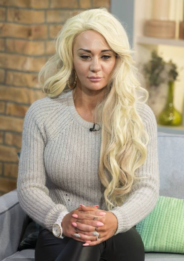 Josie Cunningham  'This Morning' TV Programme, London, Britain