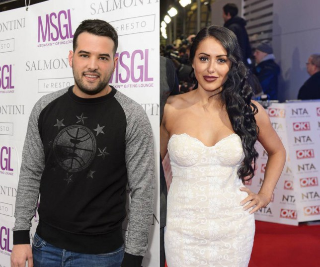 TOWIE's Ricky Rayment and Geordie Shore's Marnie Simpson (Picture: Getty)