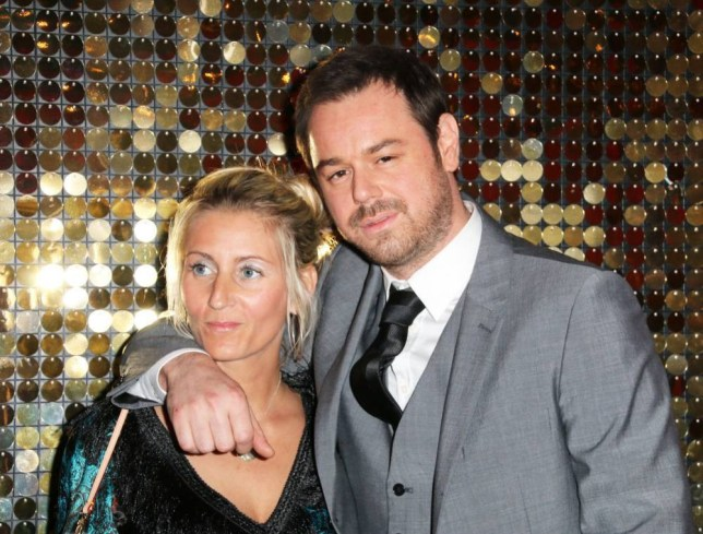 Mandatory Credit: Photo by London News Pictures/REX (3773680af) Danny Dyer and Joanne Mas British Soap Awards, Hackney Empire, London, Britain - 24 May 2014