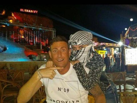 Congratulations! Christopher Maloney gets engaged on holiday – with Daniella Westbrook in tow