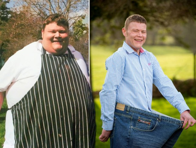 Chef Jamie Brooks lost 21 stone after friend text him 'fat f
