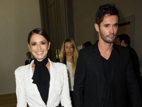 No sign of a baby bump as Cheryl Fernandez-Versini steps out with Jean-Bernard