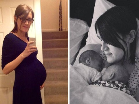 Woman gives birth to twins despite being genetically born a man
