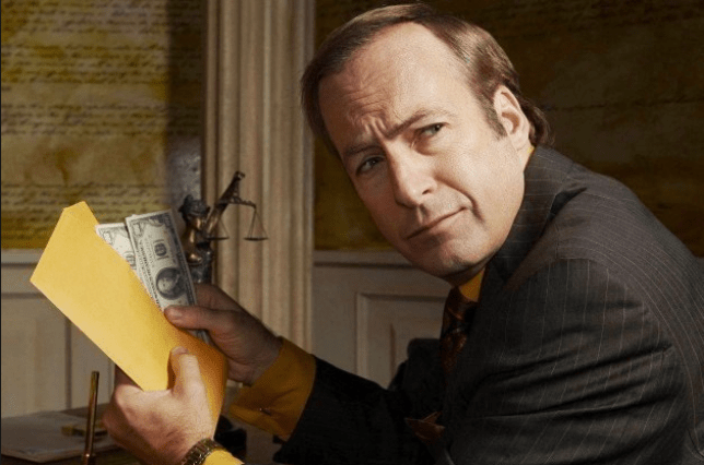 Bob Odenkirk is to return as Saul Goodman in Better Call Saul (Picture: AMC)