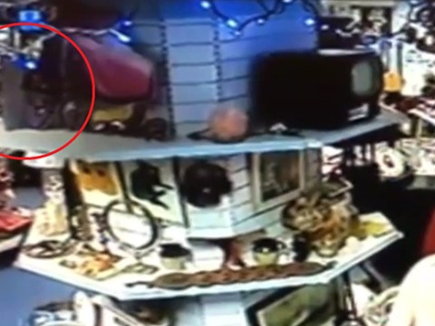 Ghost pushes antiques off shelf in Britain's most haunted shop