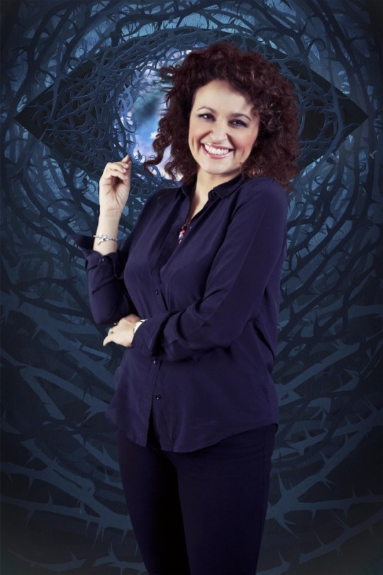 Nadia Sawalha. Celebrity Big Brother 2015