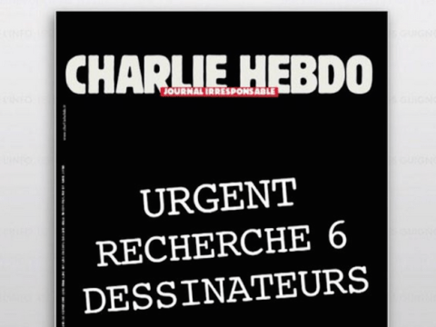 It may not be real, but this Charlie Hebdo cover is brilliantly defiant