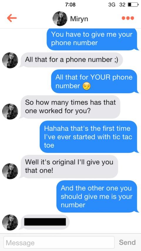 Play tic tac toe tinder