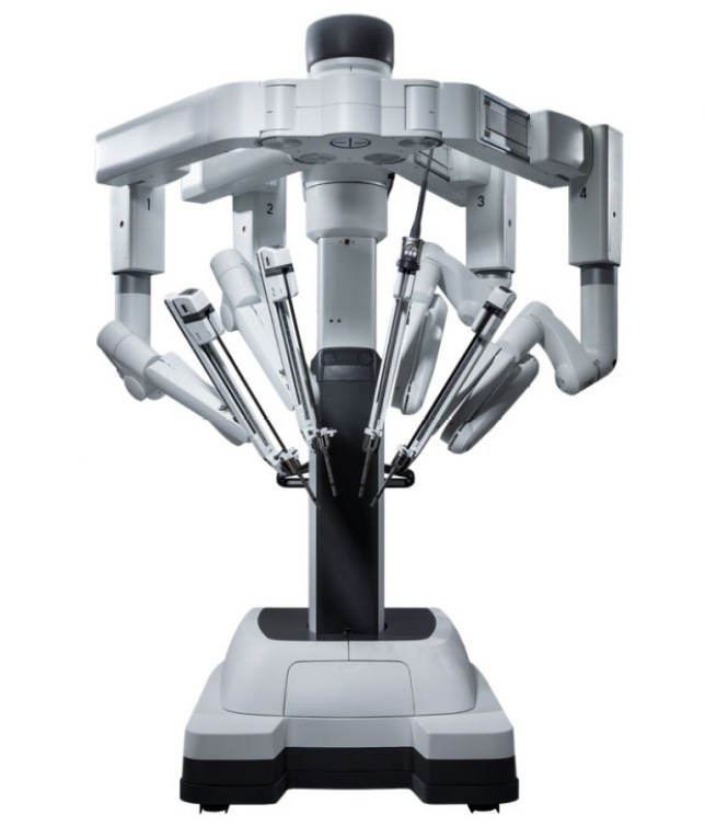 The Da Vinci robot (Picture Da Vinci)