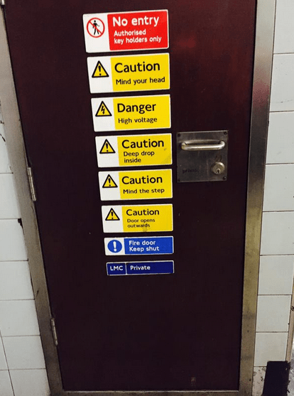 This could be the most dangerous door ever…