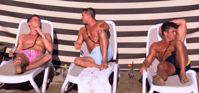 Gaz Beadle Ex On The Beach 2015 trailer (Picture: MTV)