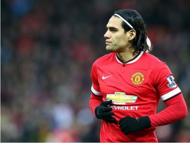 Radamel Falcao is set to stay at Manchester United
