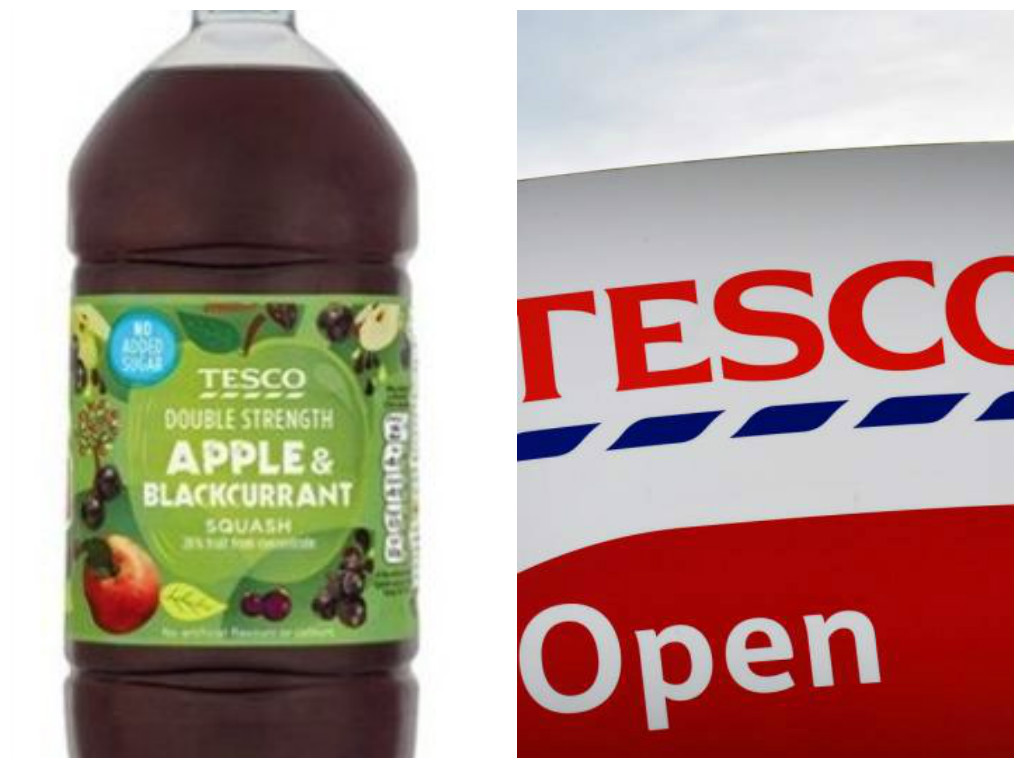 Tesco recalls own brand drink after complaints of 'disgusting smell'