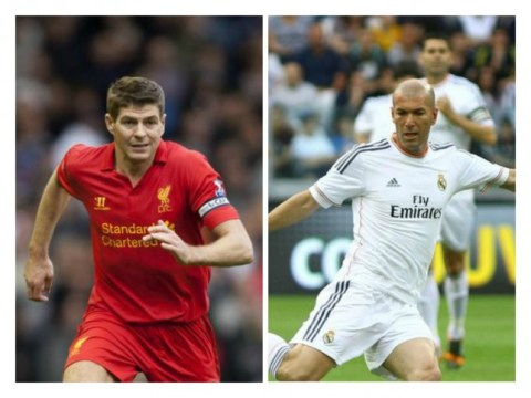 Steven Gerrard turned down Real Madrid transfer TWICE to stay at Liverpool, reveals Zinedine Zidane