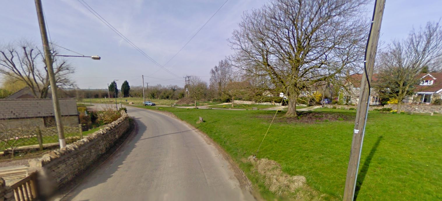 The village of Hinton where locals are fed up with outdoor sex (Picture: Google Street View)