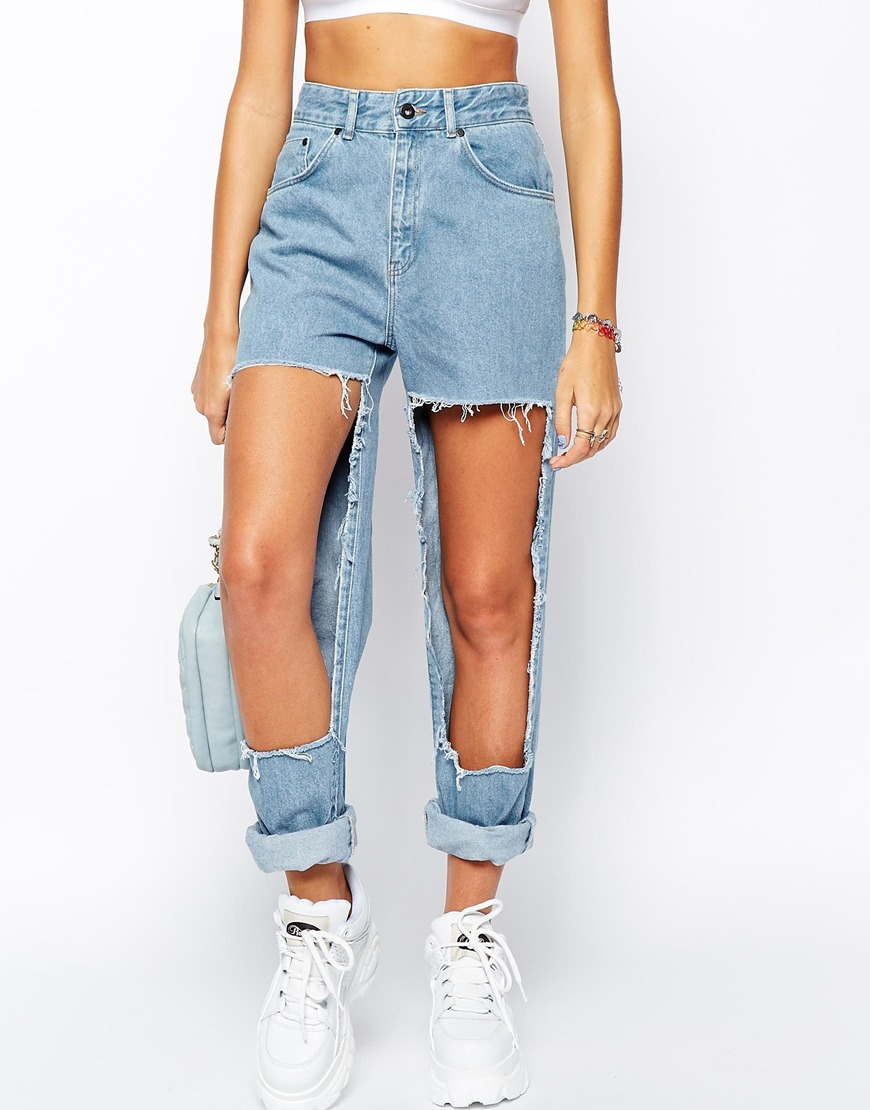 114776b9931 11 pairs of distressed ripped jeans which have gone too far   Metro News