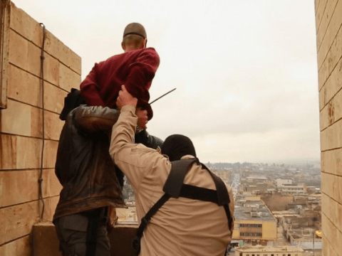 Isis throw man off roof in Iraq for being gay