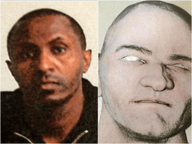 Robbers who disguised themselves as white cops were