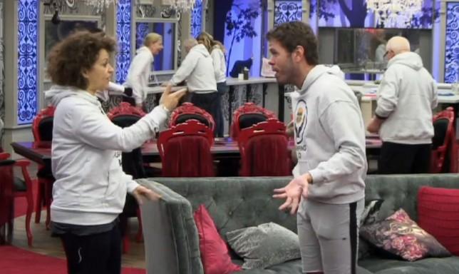 Celebrity Big Brother's Nadia Sawalha asks Perez Hilton to lay off 'national treasure' Keith Chegwin