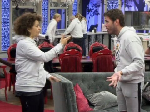 Celebrity Big Brother's Nadia Sawalha asks Perez Hilton to lay off 'national treasure' Keith Chegwin