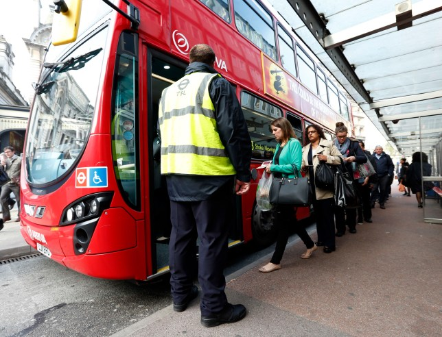 London bus drivers are set to go on strike tomorrow (Picture: Getty)