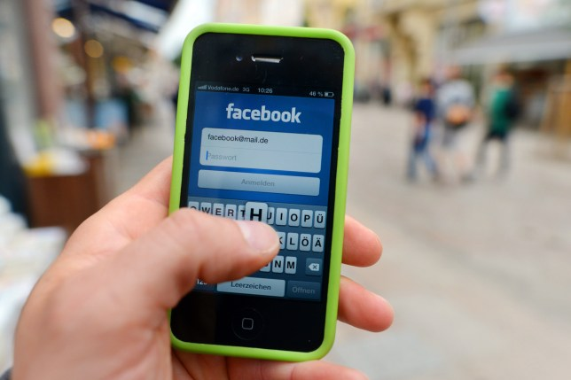 Facebook - now even better optimised for time wasting (Picture: PA)