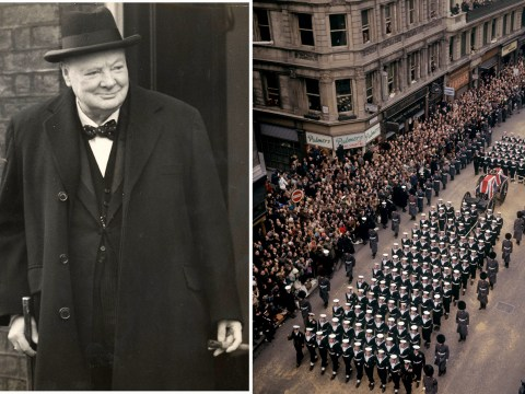 Today is the 50th anniversary of the state funeral of Sir Winston Churchill