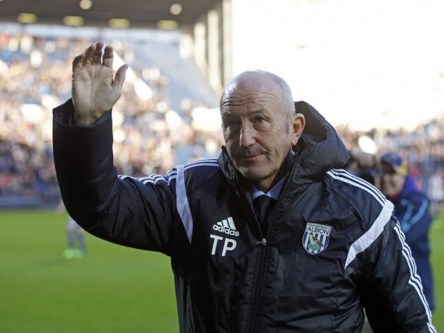 Three West Brom players facing the axe under Tony Pulis