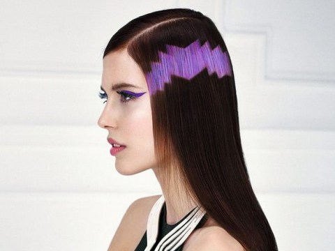 Move over ombre, the latest cutting-edge hairstyle is pixelation