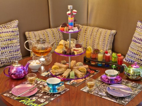 London hotel launches glam rock themed afternoon tea, served at midnight