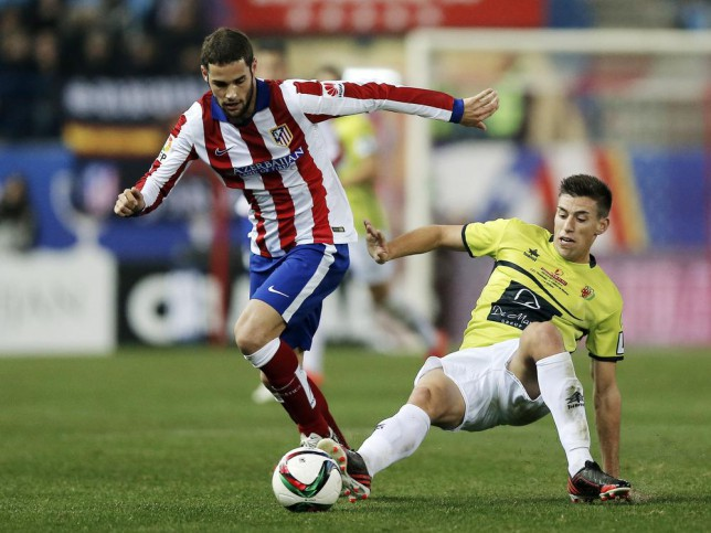 Mario Suarez has been linked with a move to Arsenal (Picture: AP)