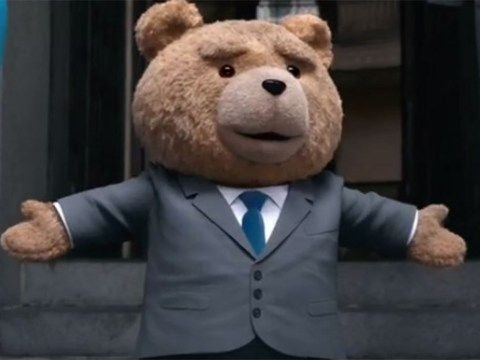 Ted is back! Seth MacFarlane's potty-mouthed plaything wants to be 'human' in the first trailer for Ted 2