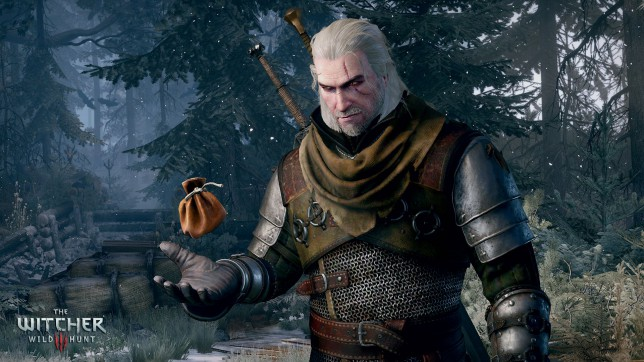 The Witcher 3: Wild Hunt - counting the money