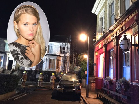EastEnders on-set fire caused by rehearsal for live episode fireworks display