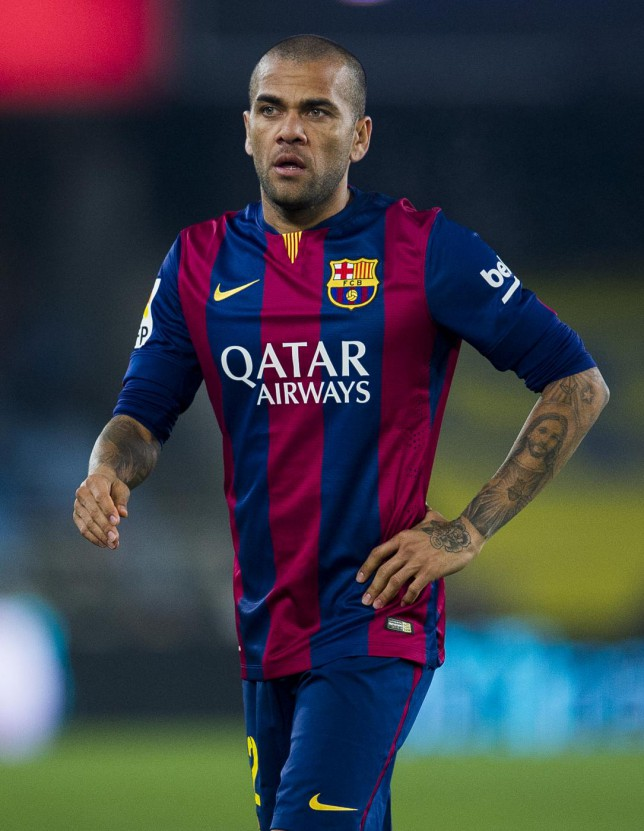 Manchester United transfer target Dani Alves' agent admits star could quit Barcelona
