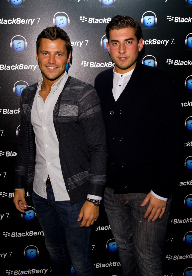 Mark Wright and James 'Arg' Argent