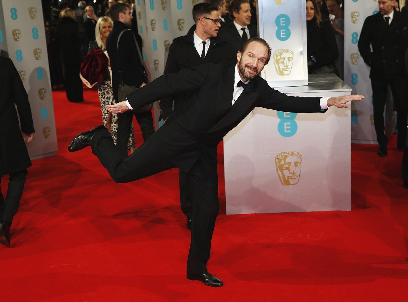 Baftas 2015: The Grand Budapest Hotel cleans up with five gongs – and Ralph Fiennes couldn't be happier