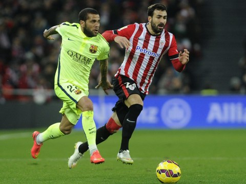 Manchester United bosses 'open talks' over free transfer of Barcelona star Dani Alves