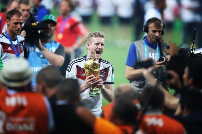World Cup winner Andre Schurrle has completed a move back to the Bundesliga