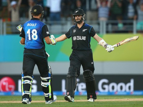 Kane Williamson blasts six to guide New Zealand to amazing win over Australia at Cricket World Cup