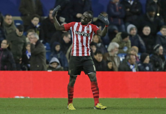 Sadio Mane was dropped by Southampton for turning up late