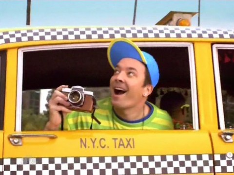 Jimmy Fallon delivers spot-on spoof of The Fresh Prince Of Bel Air titles as The Tonight Show heads to Los Angeles