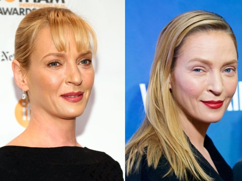 Uma Thurman's done a Renee Zellweger and completely changed her face