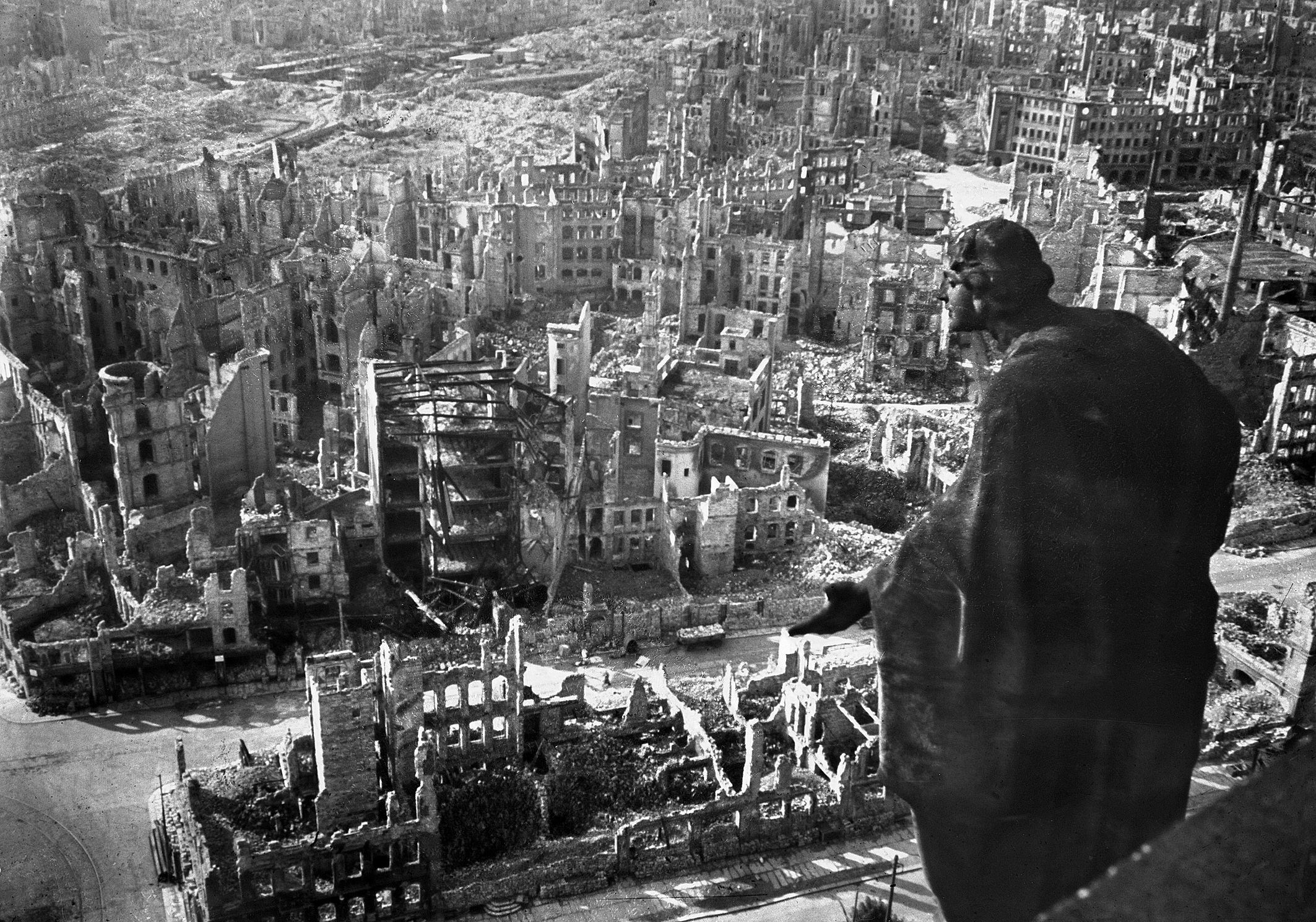 Did the Archbishop of Canterbury just apologise for bombing the Nazis?