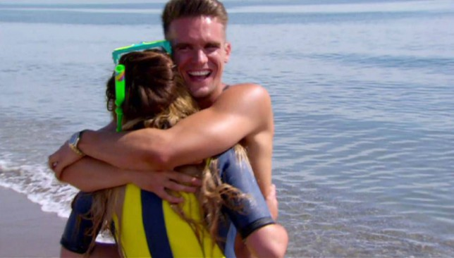 30.01.15 Preview of Geordie Shore's Charlotte and Gaz on MTV reality show 'Ex On The Beach 2' Pictured:  PLANET PHOTOS www.planetphotos.co.uk info@planetphotos.co.uk +44 (0)20 8883 1438