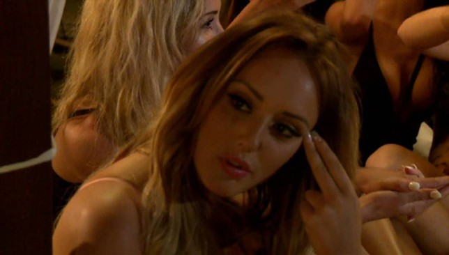 Geordie Shore's Charlotte Crisby on Ex On The Beach 2 (Picture: MTV)
